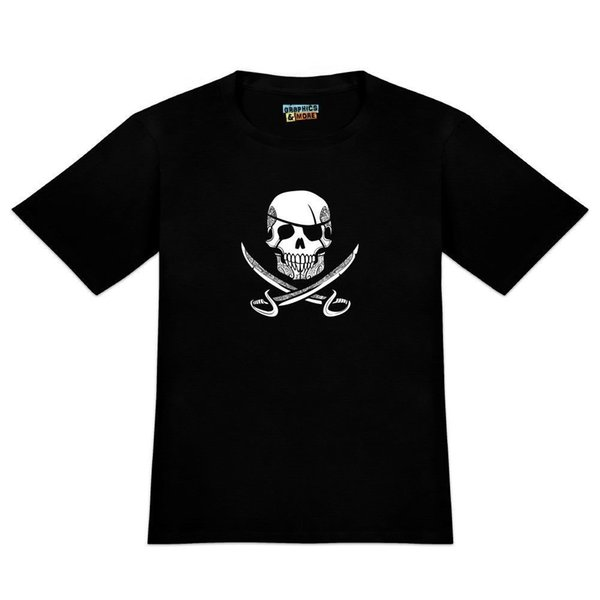 Pirate Skull Crossed Swords Tattoo Design Men's Novelty T-Shirt Cool xxxtentacion tshirt Brand shirts jeans Print Classic Quality High