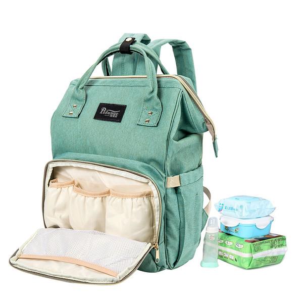 Baby Diaper Bag Maternity Travel women nylon Large Capacity Lactating Changing Mother Nursing Organizer troller wheels backpack