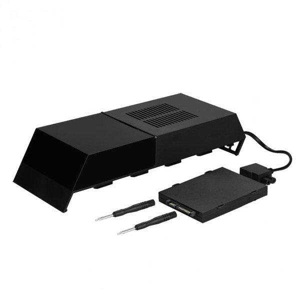 pour PlayStation 4 PS4 Jeu de banque de données de 3,5 pouces Disque dur externe Station de stockage en armoire HD