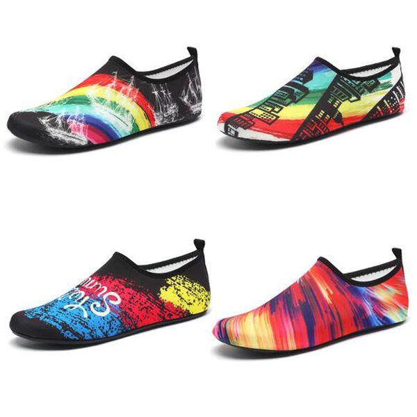 2019 Womens Mens Barefoot Quick-Dry Aqua Socks Beach Swim Surf Exercise Water Shoes