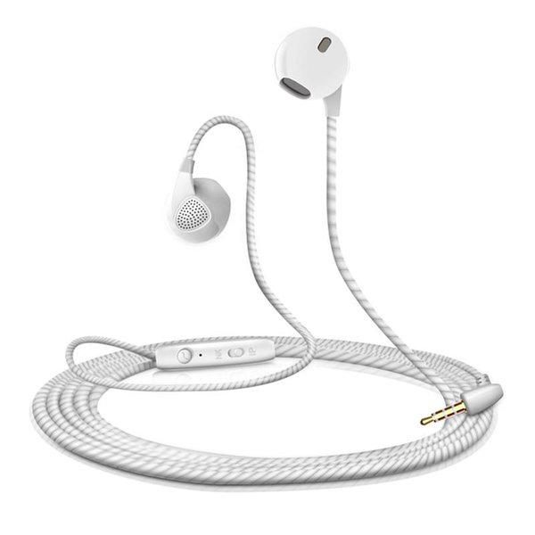 2018 Earphone For iPhone 6 6S 5 5S Headphones With Microphone 3.5mm Jack Bass Headset For apple Xiaomi sony Sport Headphones