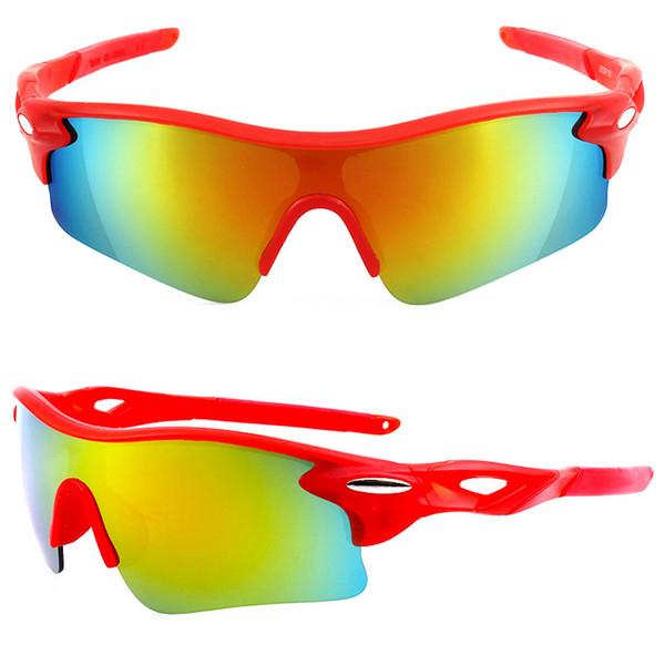 occhiali da sole sportivi di alta qualità per uomo donna antivento UV400 Ciclismo in esecuzione Driving Golf da pesca Baseball Softball Escursionismo Occhiali da vista