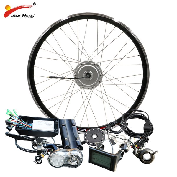 wholesale Motor E-bike Kit 36V 48V 250W 350W 500W BPM Hub Motor Front 8FUN BAFANG Motor Bicycle Electric Bike Conversion Kit