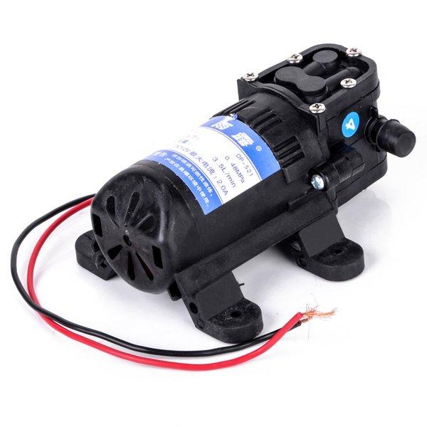 Durevole DC 12 V 70 PSI agricola Pompa acqua elettrica Mayitr Nero Micro alta pressione Membrana spruzzatore acqua Pompe 3.5L / min