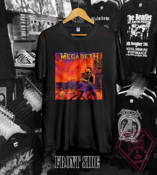 Edición limitada Megadeth Skull T-Shirt S-2XL