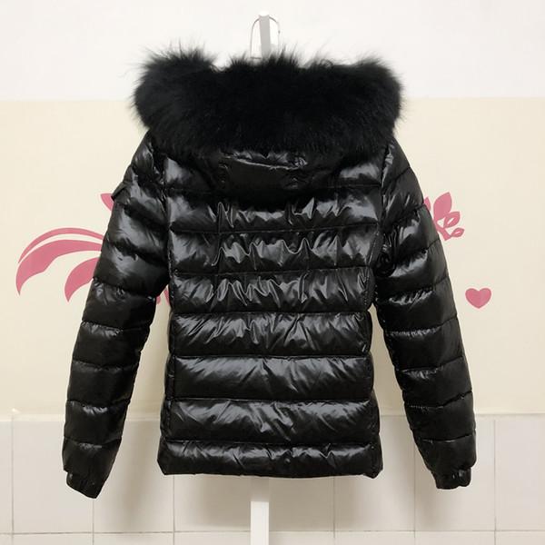 Acheter M19 BADYFUR Vente Chaude Femmes Doudoune Manteau D'hiver Épaississement Vêtements Femme Véritable FOX Fourrure Col Capuche Bas Doudoune De