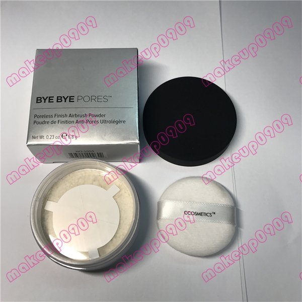 DHL verschiffen Bye Bye Poren Porenlose Finish Airbrush Pulver Poudre de Fnition gute qualität Gesicht pulver 6,8 g 0,23 unze 100% echt foto
