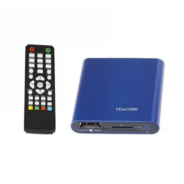 1080P Mini HDD Media Player MKV/H.264/RMVB HD with HOST USB/SD Card Reader