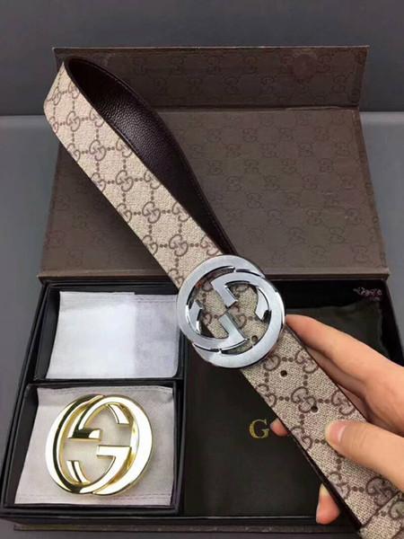 Fashion Brand Designer Cinture Moda adulti e bambini Cintura di lusso Uomo Donna cinturini in vera pelle con scatola originale
