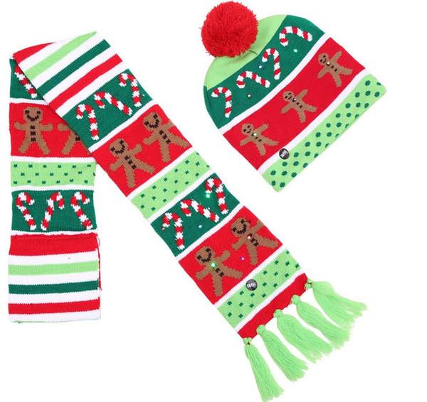 scarf +hat