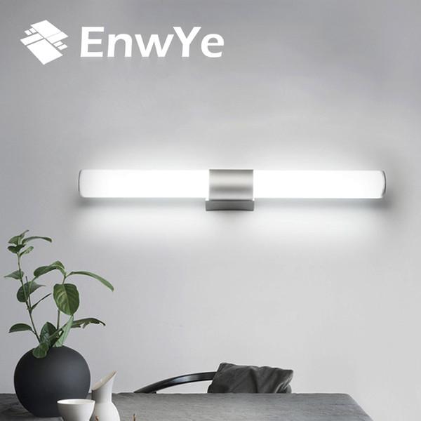 Großhandel EnwYe Wandleuchten Badezimmer LED Spiegelleuchte Wasserdicht 12W  16W 22W AC85 265V LED Röhre Moderne Wandleuchte Badezimmerbeleuchtung BD71  ...