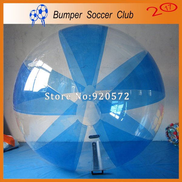 Free Shipping PVC good quality 2m dia kid and adult water walking ball for home rent game play on grassland water snow