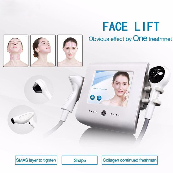 2 in 1 body haping kin tightening vacuum cooling focu ed rf thermolift for face lifting beauty equipment