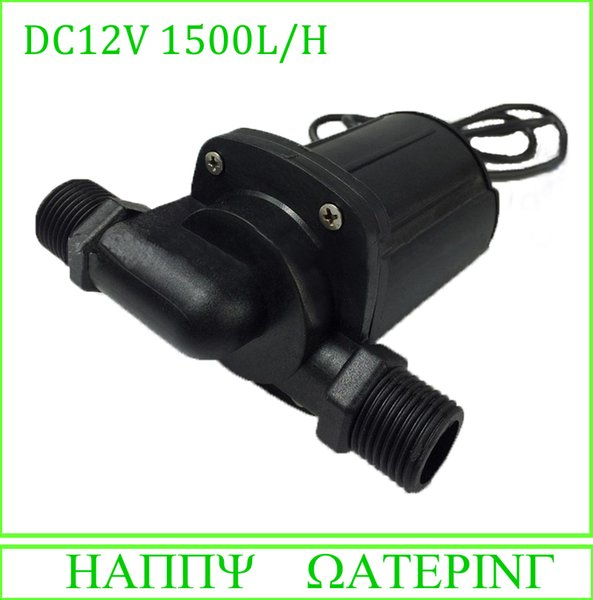 1000C Type High Lift Brushless Solar Fountain Pump DC Water Pump 12V/24V Can be Used Submbersible and Being Land