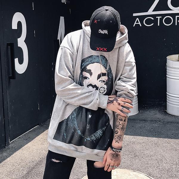 2018 весна приливный ветер хип-хоп европейский американский пиджак мужской свободного покроя студенческой личности хедж прилив кофты мужчины бесплатная доставка