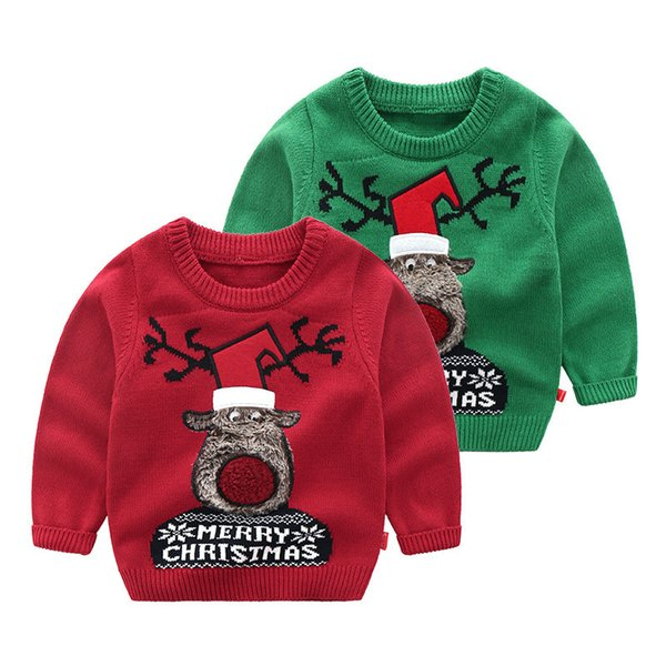 Ugly Christmas Sweater Kids.Baby Boy Clothing Ugly Christmas Sweaters For Toddler Boy Kids Designer Clothes Merry Christmas Reindeer Long Sleeve Free Knitting Patterns For Kids