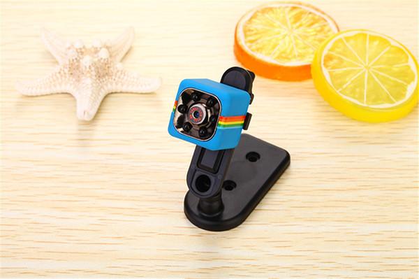 SQ11 HD mini Camera small cam 1080P Sensor Night Vision Camcorder Micro video Camera DVR DV Motion Recorder Camcorder + 8GB TF Card