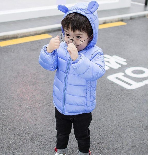 top popular Winter baby children's down cotton pad new winter clothes infant light cotton coat boys and girls Wholesale sales 2021