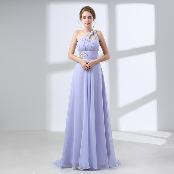 2018 Evening Dresses Ever Pretty One Shoulder Floral Padded Holiday Celebrity Prom Fashion Summer Style Evening Dresses Long 66399