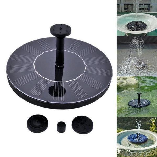 Outdoor Solar Powered Water Fountain Pump Floating Outdoor Bird Bath For Bath Garden Pond Watering Kit OOA5133