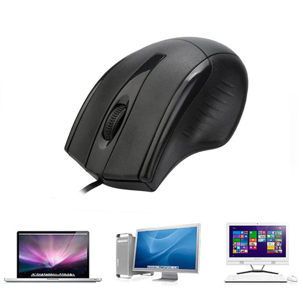 Mouse Raton USB Wired Scroll Wheel Gaming Mouse Professional Gamer Mice For PC Laptop Notebook computer 18Aug8
