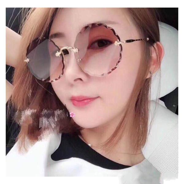 fc48911ce7 Popular Sunglasses CE142S luxury brand sunglasses for men women 53mm round  frame cut edge unique personality