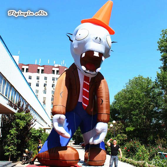 2019 Inflatable Halloween Decorations Giant 5m Height Cool Zombie Blow Up Cartoon Model For Outdoor Advertising Supplies From Calmwen 945 23