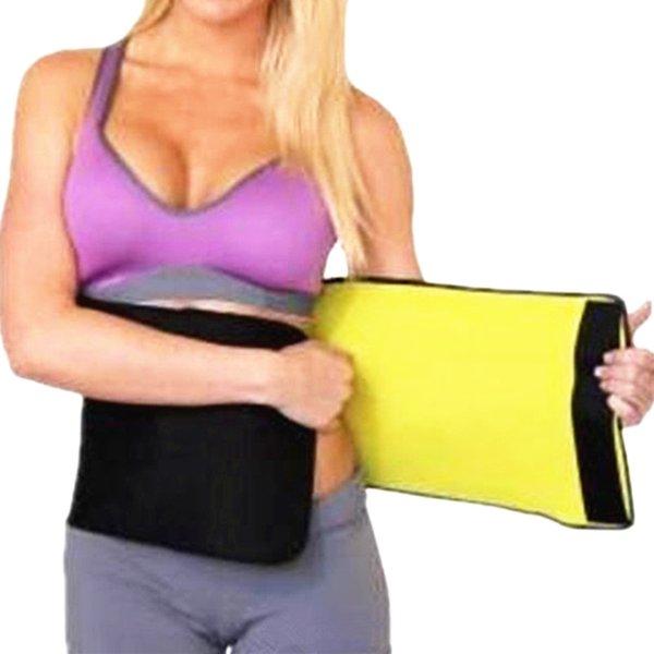 Sauna Slimmin Waist Shaper Fitness Belt Burn Fat Sweat Waist Cinchers Lose Weight Girdles Belly Reduce Neoprene Shapewear