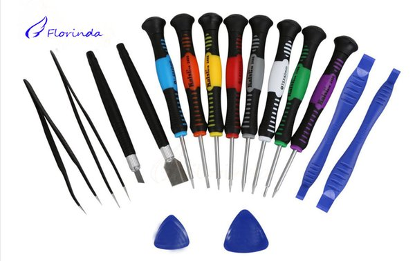 16 in 1 Repair Tools Screwdrivers Set Kit For Mobile Phone iPhone 6 5S 4S 3GS iPad Samsung computer