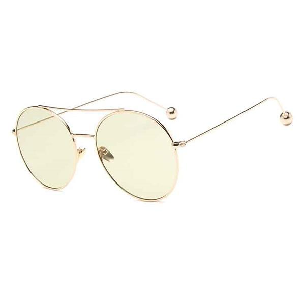 2018 Vintage Luxury Women's Sun Glasses Round Candies Colors Sunglasses Ladies HD Classic Outdoor Shopping Eyewear UV400