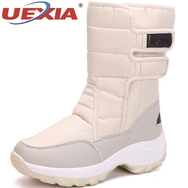 wholesale New Plush Shoes Women Boots Warm Winter Snow Boots Women Ladies Fur Winter Shoes Woman Platform Ankle Boots Black Sneakers