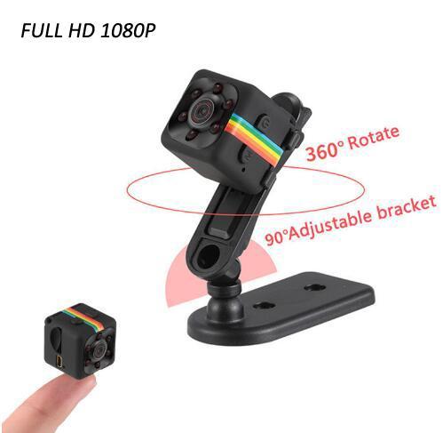 Taşınabilir 2.0 MP HD Kamera FULL HD Gece Görüş Mini Kamera 1080 P Hava Sporları Mini DV Ses Video Kaydedici DVR Kamera