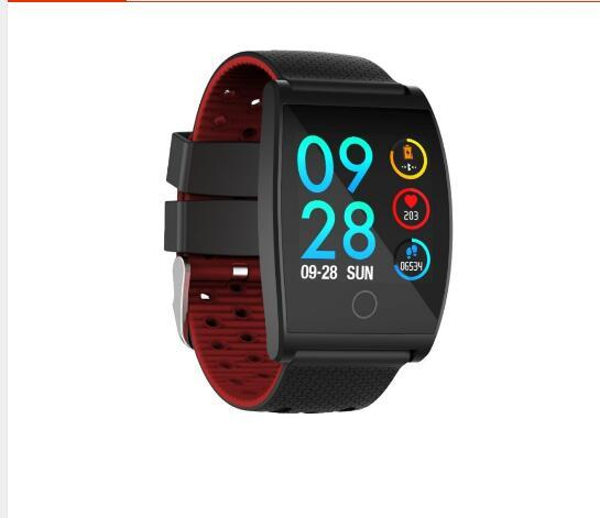brand new QS05 Bluetooth Sports Smart Watch Heart Rate Blood Pressure Oxygen Alarm Clock Tracker for Android & IOS Smart phone