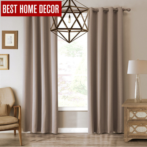 Trattamenti per finestre Oscuranti per tende per tende oscuranti per tende oscuranti per soggiorno Le tende della camera da letto