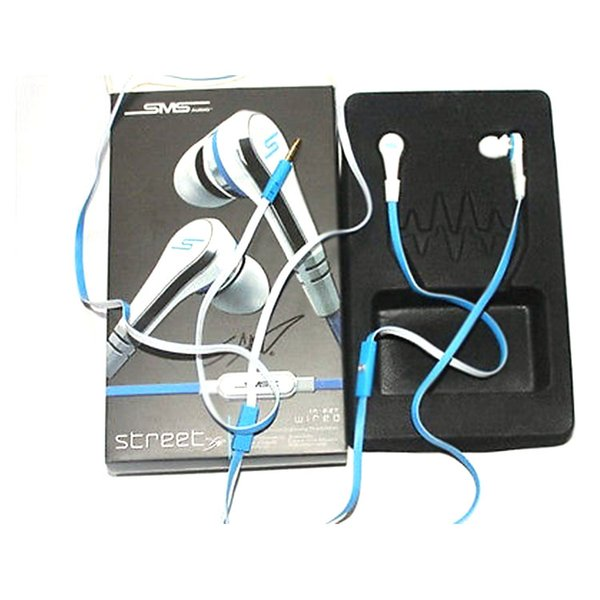 Bulk Discount Professional Mini SMS Street by 50 Cent Street with MIC Earphones for MP3 Player iPhone