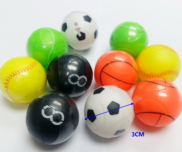 10 piece 30mm puzzle ball diff puzzle football basketball volleyball tennisball birthday game cake PARTY FAVORS toys prize gift