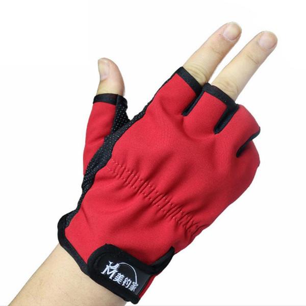 Nuevos guantes antideslizantes para pesca / Guantes antideslizantes de alta calidad / Herramientas de caja de aparejos deportivos para exteriores