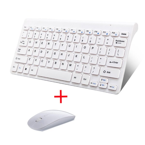 USB Mouse And Keyboard Wireless For Mac Desktop PC 2.4G Wireless Keyboard Mouse Combos For IOS Laptop Notebook PC Home office