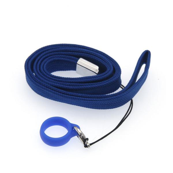 Il più nuovo colorato cordino in silicone corda fissa cordino portatile convenienza portatile per penna Vape EVOD EGO E-sigaretta Pod calore-non-bruciare