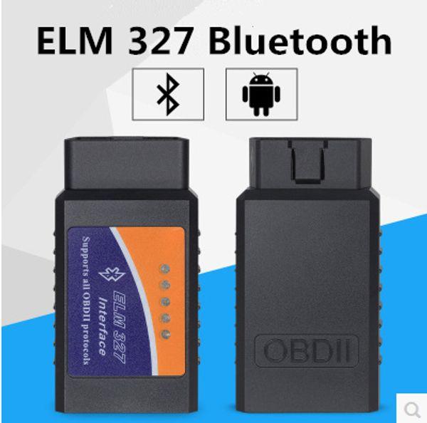 top popular 20PCS Bluetooth ELM327 BT ELM327 OBD2 ELM 327 CAN-BUS High Quality Car Diagnostic Adaptor Cable V1.5 PIC 25K80 2021