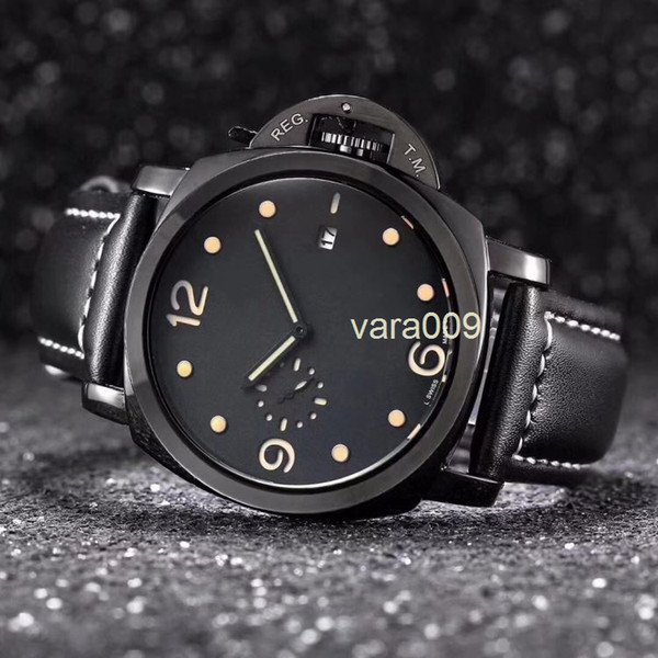 Top Brand Luxury Men F1 Military Quartz Watch Mens Big bang Watches Leather band Sports Wristwatch Auto Date master Clock relogio masculino