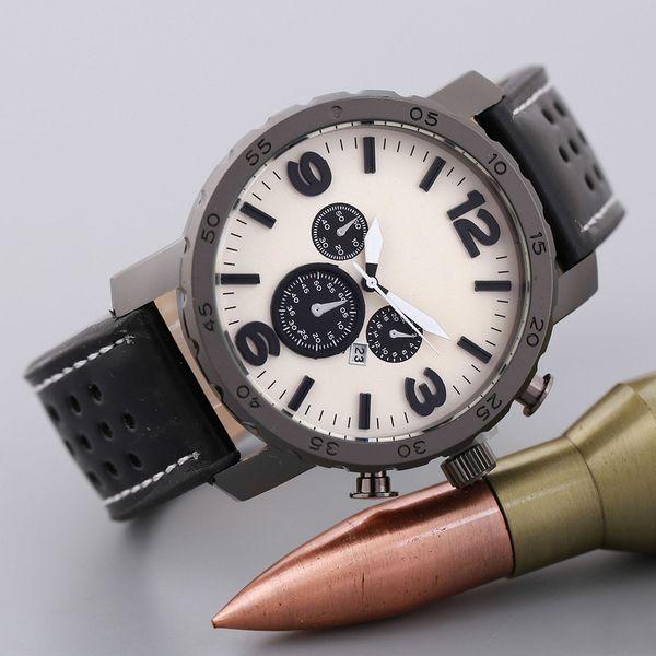Mens Relógios Top Marca de Luxo Relógio Mecânico de Negócios de Aço de Couro Dos Homens À Prova D 'Água Esporte Relógios Relogio masculino 10 pcs