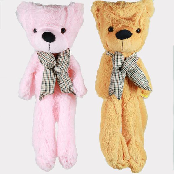 100 cm Teddy Bear Skins Pelúcia Macia Bonecas de Brinquedo Urso Gigante Vazio Animal Skins Shell para Crianças Animal Bonito Peluche Stuffed Brinquedos presentes