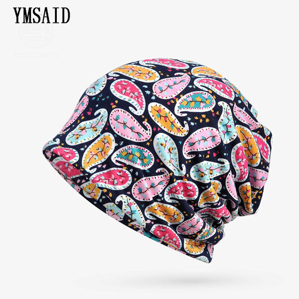 Women Hedging Cap Skullies Beanies Autumn Fashion Thin Lace Knitting Caps Bonnet Double Layer Cotton Knitted Hat Cap Beanies