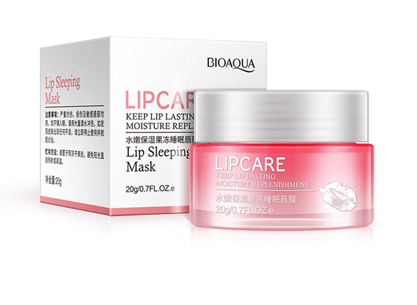 20g Lip Mask Lip care Keep lip lasting Sleep mask Labial membrane Replenishing water Moist free shipping