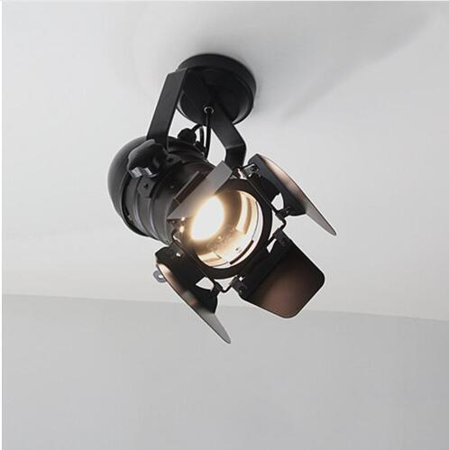 LED Wall Lamp track American Retro Country Loft Style lamps Industrial Vintage Iron wall light for Bar Cafe Home Lighting