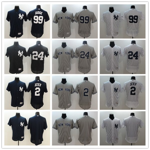 uk availability 1d84d bbe9c 2019 2017 Men'S New York Yankees Jerseys 2 Derek Jeter 24 Gary Sanchez 99  Aaron Judge Navy Baseball Jerseys From Gateh, $22.22 | DHgate.Com