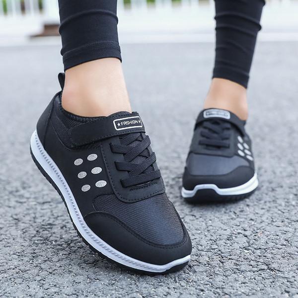 Compre QEJEVI Zapatillas Deportivas Para Mujer Zapatillas De Deporte De Invierno Cómodas Zapatillas De Deporte Para Correr Al Aire Libre Jogging Y Con