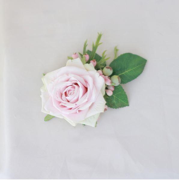 Bride wrist flower