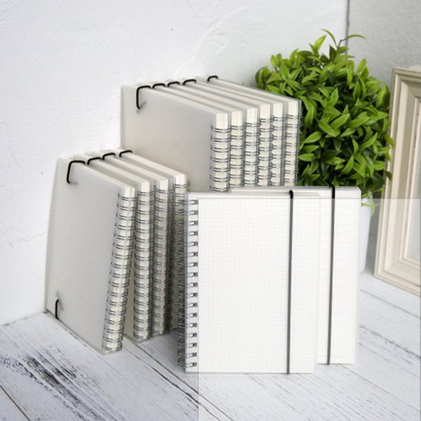 A5 Spiral book coil Notebook Lined DOT Blank Grid Paper Journal Diary Sketchbook For School Supplies Stationery Store